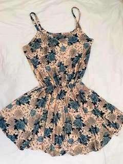 Basic Floral Dress
