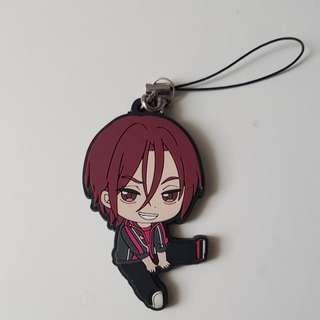 Free! Rin matsuoka rubber keychain