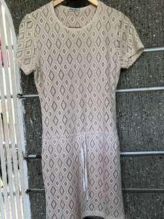 Peppermint Nude Dress