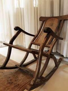 Rush sale Very durable Kamagong Rocking Chair