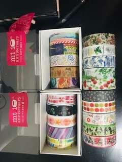 MT Washi Tapes Samples