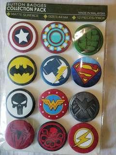 Advengers badge Rm1. 50 each