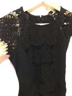 London Lispy cocktail dress black 晚裝 連身裙