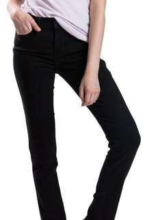levis skinny black jeans