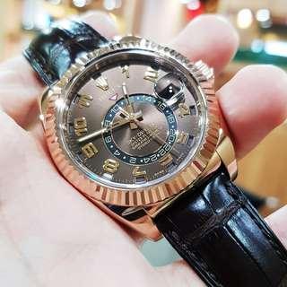 Rolex Skydweller 326135 year 2014 Full set