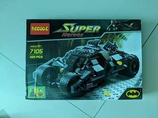 Decool 7105 Batman tumbler batmobile