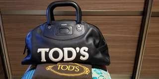 TOD's 經典保齡球袋