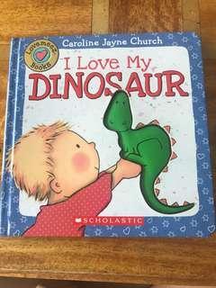 🚚 I love my dinosaur, Caroline Jayne Church