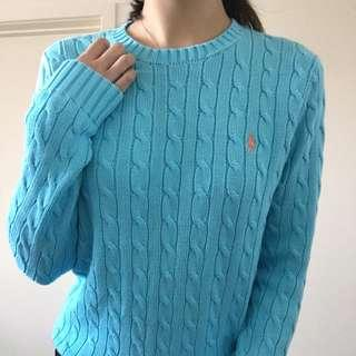 Authentic Ralph Lauren Cable Knit Sweater