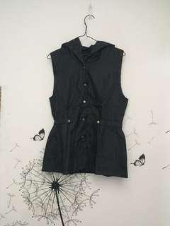 parachute black vest