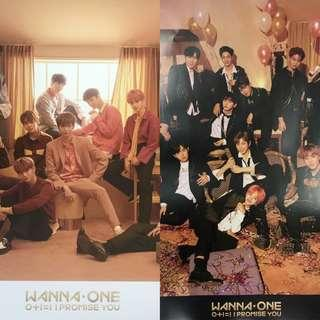 [2 FOR 20] WANNA ONE I PROMISE YOU OFFICIAL POSTER