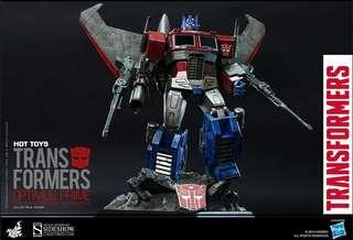 *MISB* Hot toys Transformer Optimus Prime StarScream Version Special Edition 擎天柱