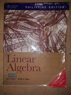 LINEAR ALGEBRA by Ron Larson and David C. Falvo