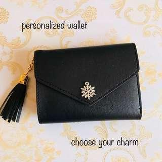 AVAILABLE Personalized Wallet (choose from 60 designs)