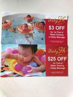 🚚 BabySpa ( baby spa) voucher