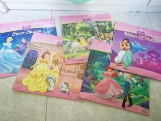 Disney princesses books