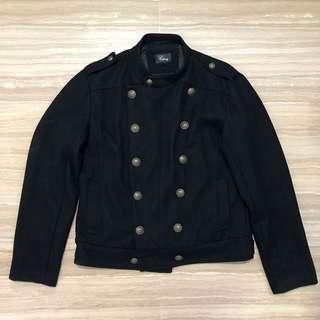 Size XL Travel winter black thick military denim jacket