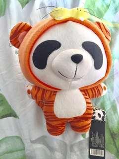 可愛虎虎 熊貓公仔