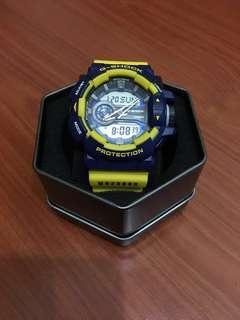 G shock GA-400 yellow made in Japan