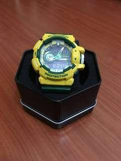 G shock GA-400CS green, made in Japan