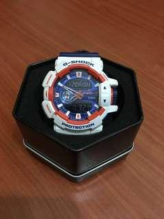 G shock GA-400CS blue made in Japan