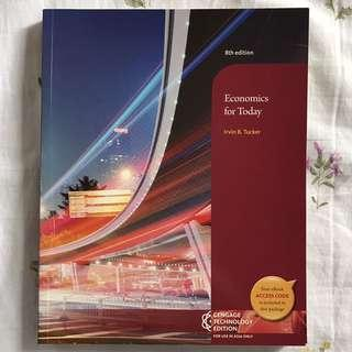 Economics for Today 8th edition TEXTBOOK