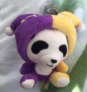 熊貓 雙子座 公仔