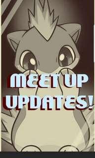 Meet Up Updates!