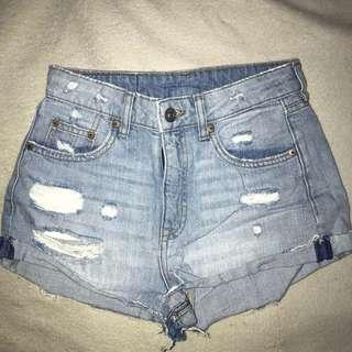 H&M High Rise Shorts