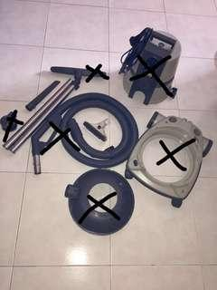 Delphin L-Lamella system vacuum cleaner's parts & accessories