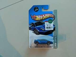 Hotwheels Lamborghini Gallardo superleggera