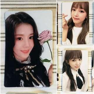 [WTB] Eunbi/Yena/Nako solo pc from ColoriZ album