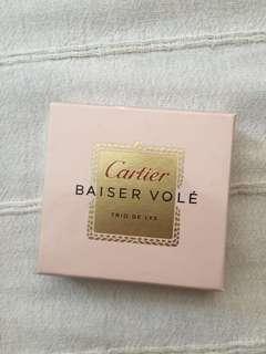 Cartier BAISER VOLÉ Parfumerie tester x 3