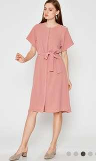 [LOOKING FOR] CARTER DRESS W SASH PINK Love & Bravery