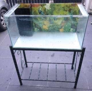Aquarium / Akuarium / Fish Tank 2.5ft