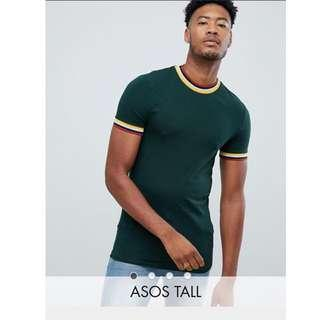 ASOS Tall Muscle fit Tee Shirt in 2XL