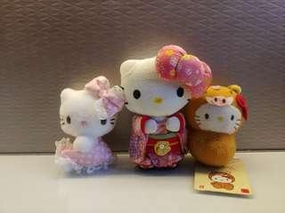 🚚 Kitty mini plush set
