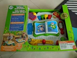 🚚 Leap frog learn and groove education music toy 6-24 months baby toddler