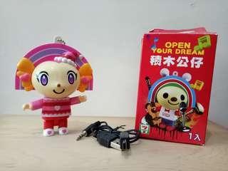 🚚 (免運)Open造型玩具放音公仔(聖誕please ) #半價良品市集