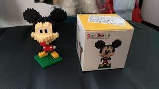 """🚚 米老鼠""""鑽石顆粒積木玩具"""