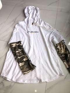 yishion army long sleeve