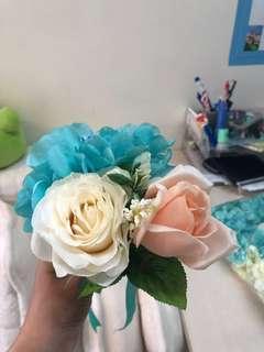 婚後物資 家居擺設 小花球