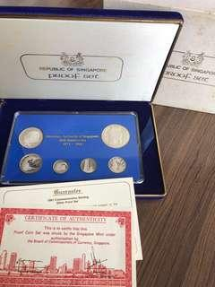 F036 - Singapore 1981 Proof Silver Coin Set