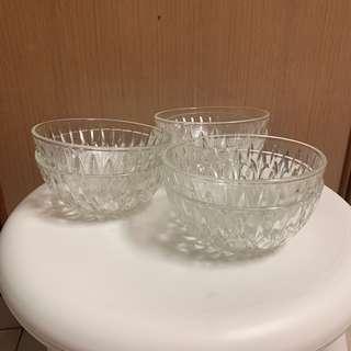 Glass bowls - sets