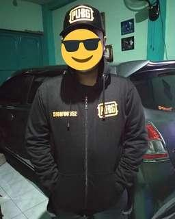 Sweater+ Topi PUBG