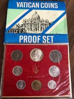 F037 - Vatican Proof Coin Set
