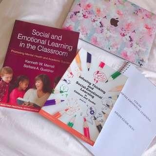COU104 Social Emotional Learning Textbooks and Course Notes (SUSS/UniSIM)