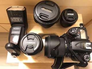 Nikon D7100 全餐