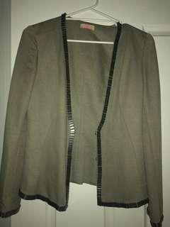 Sass & Bide new embellished blazer 36