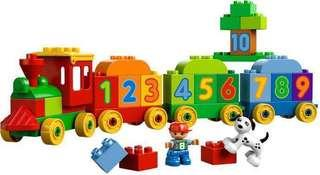 Lego Duplo Number Train Set 10558